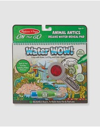 Melissa & Doug - On The Go - Water WOW! Animal Antics Deluxe