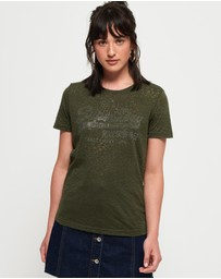 Superdry - Vintage Logo Burnout Entry Tee