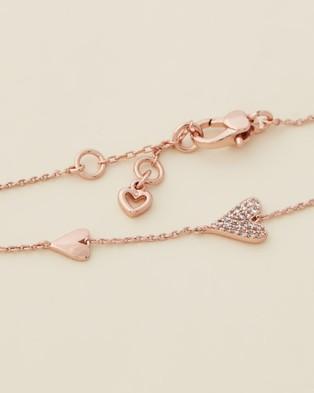 Kate Spade Sweetheart Line Bracelet - Jewellery (Rose Gold)