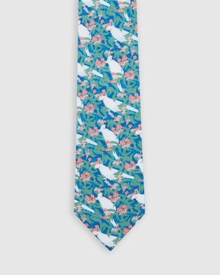 Buckle Ali Wilkinson   Tie & Pocket Square Set - Ties (Sage)