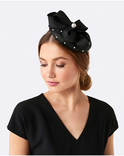 Forever New - Penny Bow & Pearl Fascinator