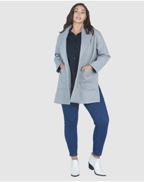 Advocado Plus - Juliana High Split Coat