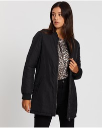 All About Eve - Bomber Force Longline Jacket
