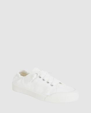 Sandler Switch - Slip-On Sneakers (WHITE)
