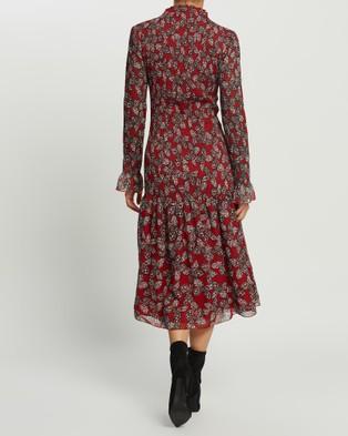 Grace Willow Talia Dress - Bodycon Dresses (Butterfly Print)