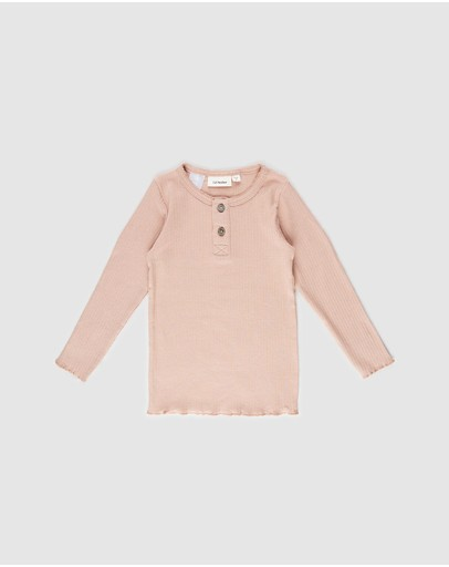 Lil' Atelier - Sadora Long Sleeve Top - Kids