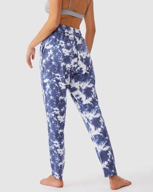 Cotton On Body The Lounge Pants - Sweatpants (Navy Tie-Dye)