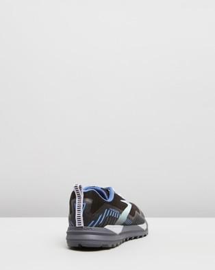 Brooks Cascadia 15 GTX   Women's - Outdoor Shoes (Black, Marlin & Blue )
