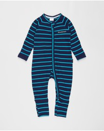 Bonds Baby - Ribbed Zip Wondersuit - Babies