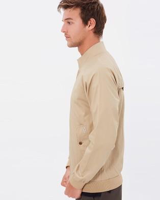 Ben Sherman Harrington Jacket - Coats & Jackets (Sand)