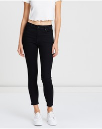 Cotton On - Mid Rise Cropped Skinny Jean