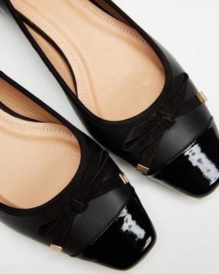 Nina Armando Mandy - Ballet Flats (Verniz Preto)