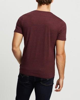 Marcs - Marle Arnie Tee - T-Shirts & Singlets (Berry Marle) Marle Arnie Tee