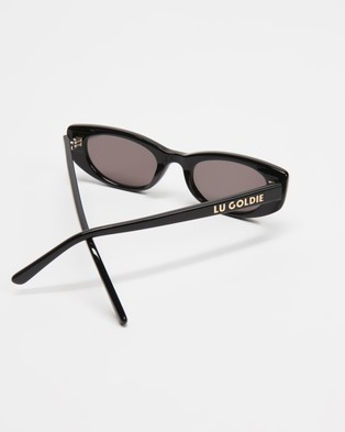 Lu Goldie Lotte - Sunglasses (Black)