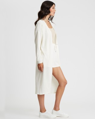 Tussah Cher Cardigan - Jumpers & Cardigans (White)