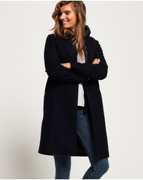 Superdry - Fjola Tech Wool Coat