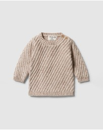 Wilson & Frenchy - Knitted Jacquard Jumper - Babies