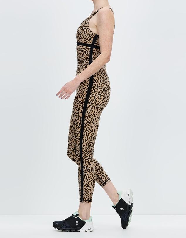 Women Leopard Seashore Catsuit