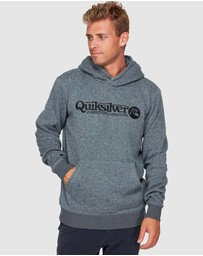 Quiksilver - Mens Keller Art Polar Fleece Hoodie