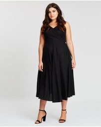 Atmos&Here Curvy - Paige Tie Back Dress