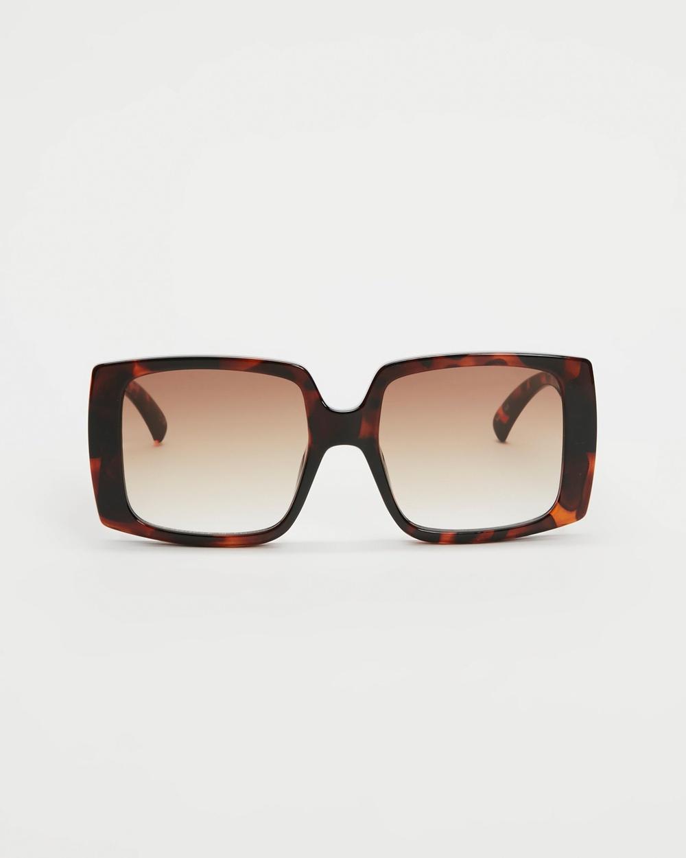 Le Specs Glo Getter Square Tort