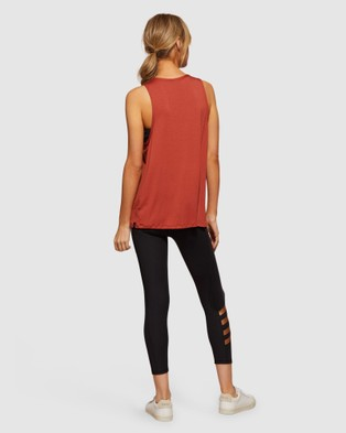 dk active - Temp Tank Muscle Tops (Rust)