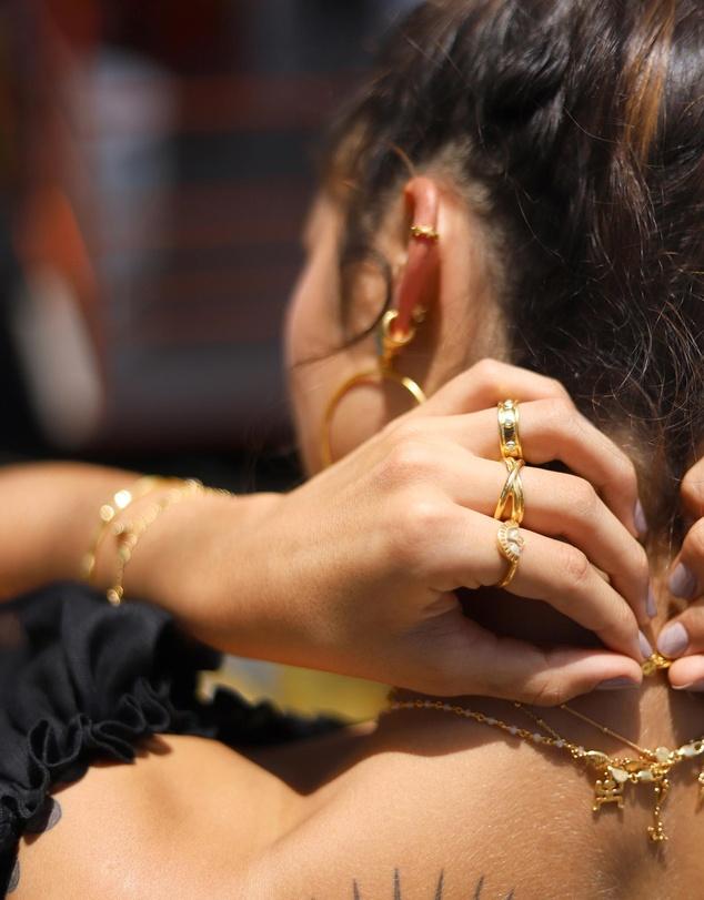 Women Amazonite Calima Ring