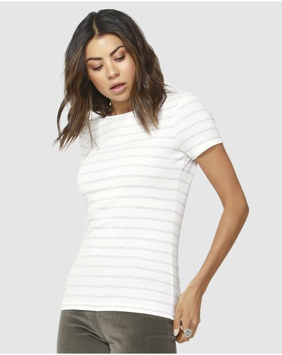Betty Basics - Ruby Rib Tee