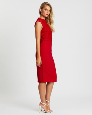 Miss Holly Ericka Dress - Dresses (Red)
