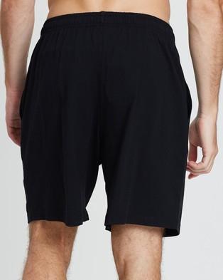Champion Script Jersey Shorts Black