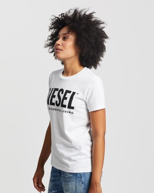Diesel Sily WX T Shirt - T-Shirts & Singlets (White)