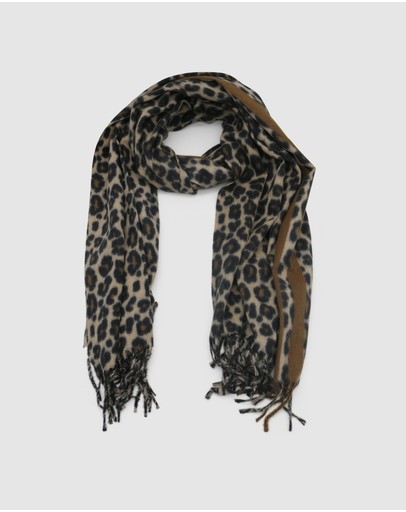 Morgan & Taylor Alexcia Scarf Brown