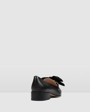 Jo Mercer Brando Loafers - Flats (BLACK EMBOSS)