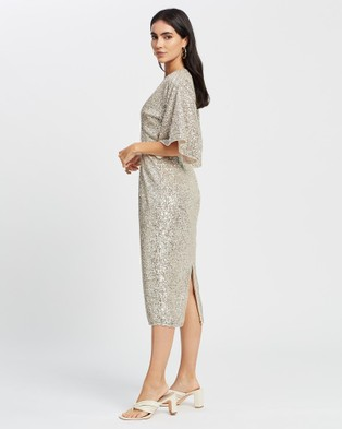 Romance by Honey and Beau Notre Dame Dress - Bridesmaid Dresses (Silver)