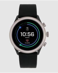 Fossil - Fossil Sport Smartwatch - 43mm Black Silicone
