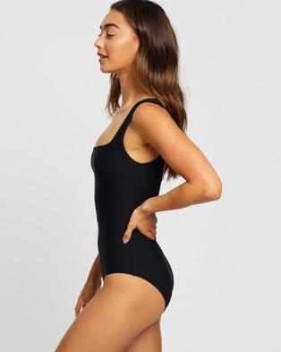 BONDI BORN - Mackinley One Piece One-Piece / Swimsuit (Jet)