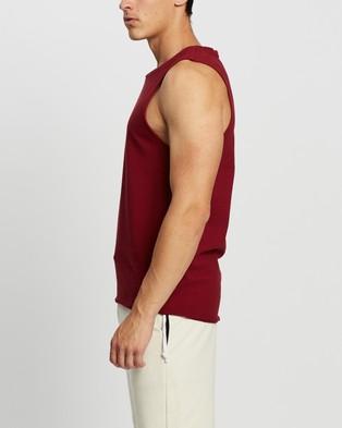 Commune Comm Muscle Tank - T-Shirts & Singlets (Wine)