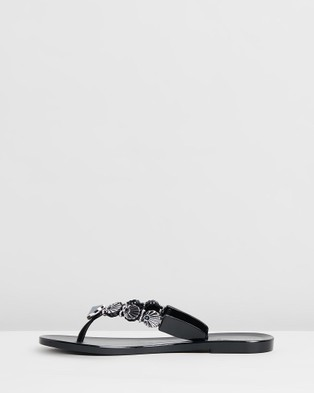 Holster Seashell - Sandals (Black)