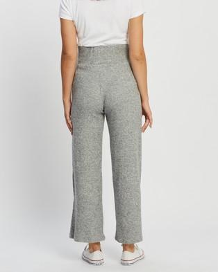 TOPSHOP Maternity Maternity Loungewear Wide Leg Trousers - Sweatpants (Grey Marle)