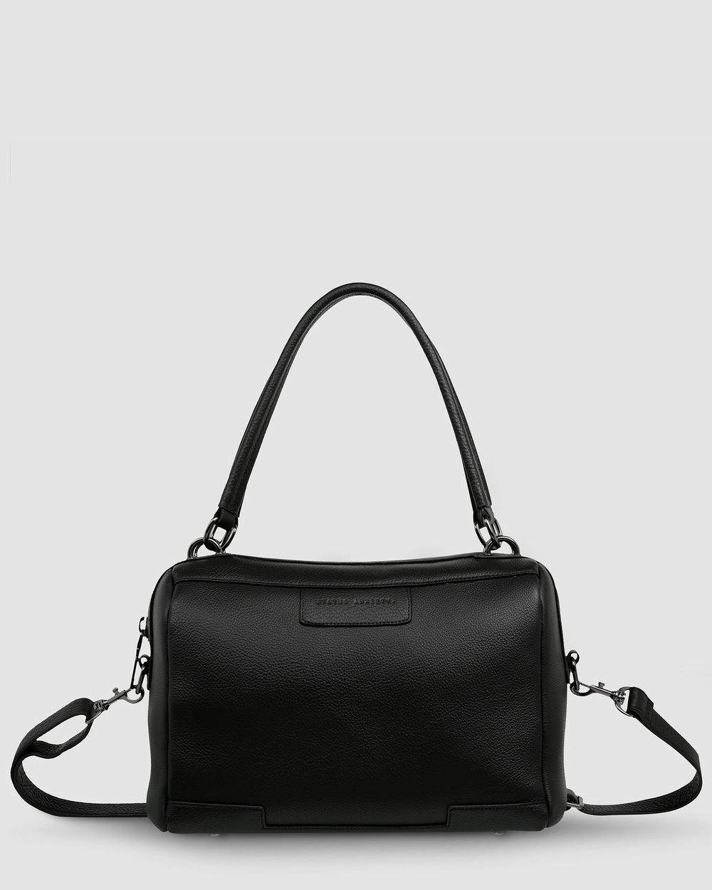 Status Anxiety Don't Ask Bag Satchels Black Leather bags Australia
