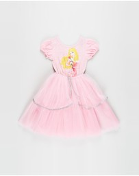 Rock Your Kid - ICONIC EXCLUSIVE - Aurora Flounce Princess Dress - Kids