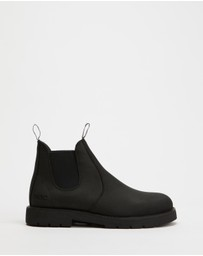 ROC Boots Australia - Jumbuk II Leather Ankle Boots