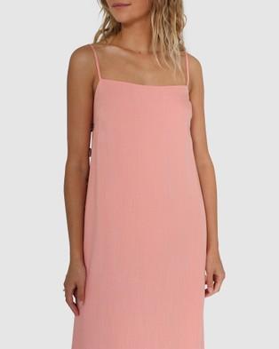 Lost in Lunar  Priya Dress - Dresses (Peach)