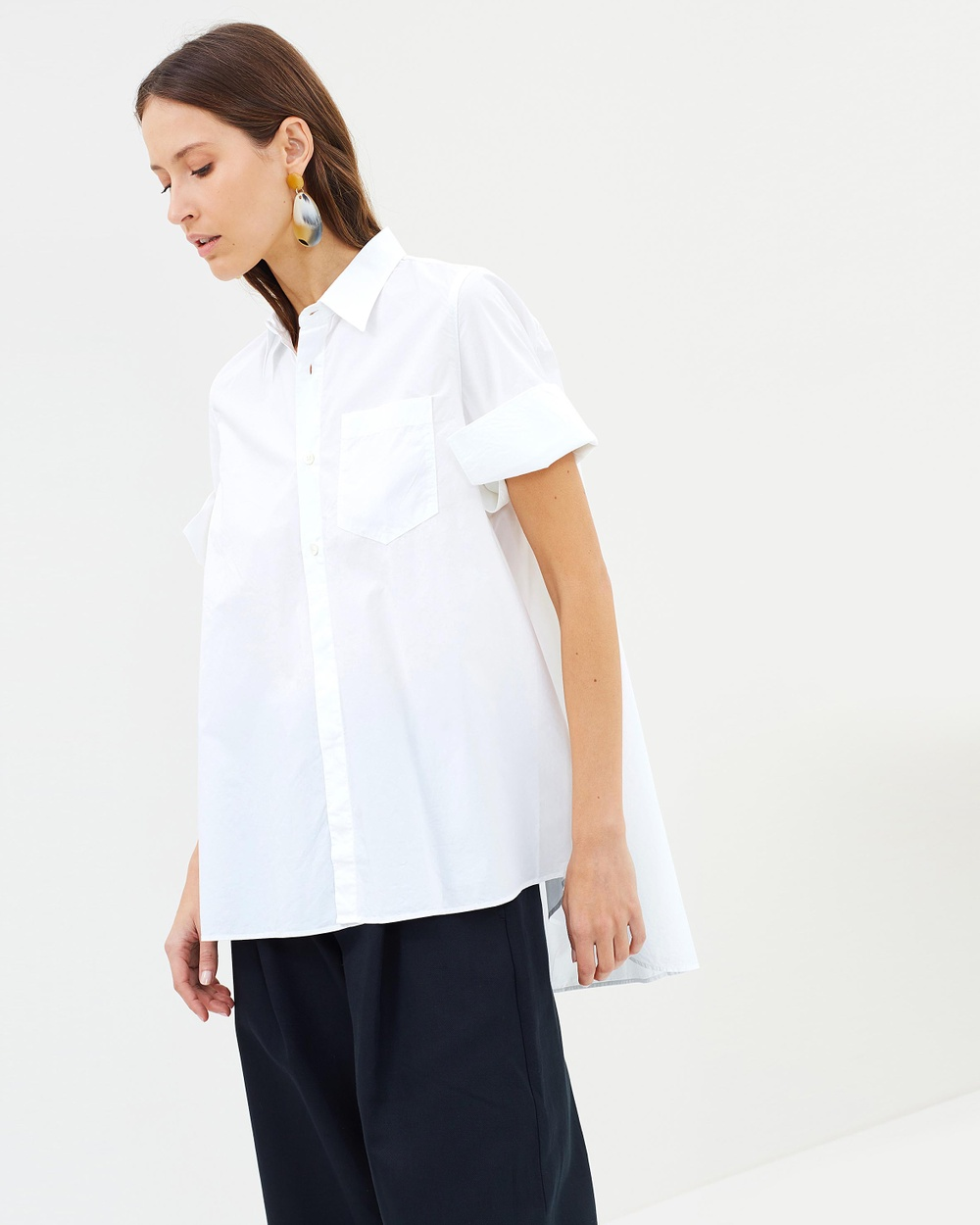 HOPE Tender Shirt Tops White Tender Shirt