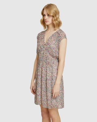 Oxford Arialla Spot Dress - Printed Dresses (Pink)