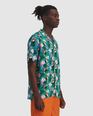 Huffer Twocan Party Shirt - Shirts & Polos (Blue)